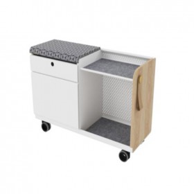 Airy Double Drawer Pedestal