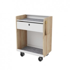 Airy Single Drawer Pedestal