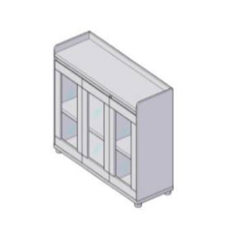 Glass door-CAB-TCG-11-1200*400*850