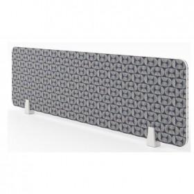 MDF Fabric Desk-up Screen-ZPFD-1000