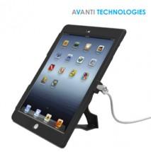 Maclocks iPad 9.7 Lock & Plastic Case Bundle with Key Cable Lock